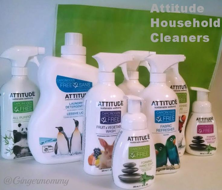 ATTITUDE Household Cleaning Products Review & Giveaway - Tales of a Ranting Ginger