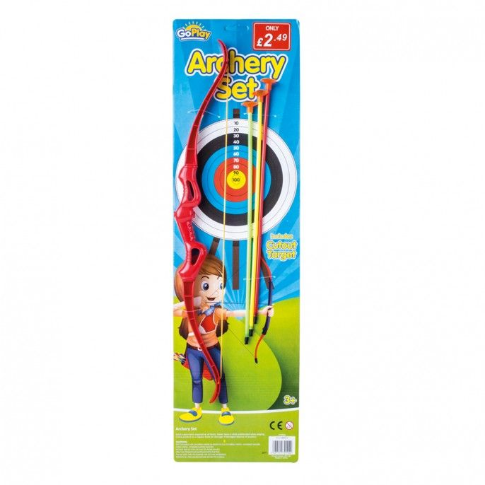 KIDS' ARCHERY SET | Poundstretcher