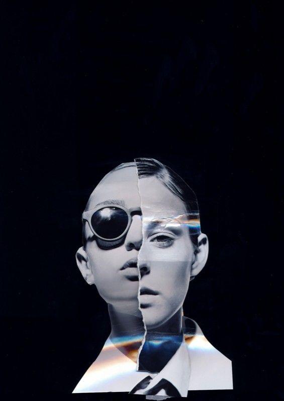 Bipolar Personality Portraits : Dual Personalities