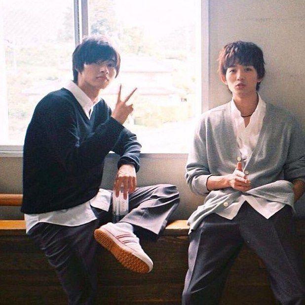 龍星涼~ Dec/15 Kento Yamazaki x Ryo Ryusei [MV, orange ver, Dec/06/15]