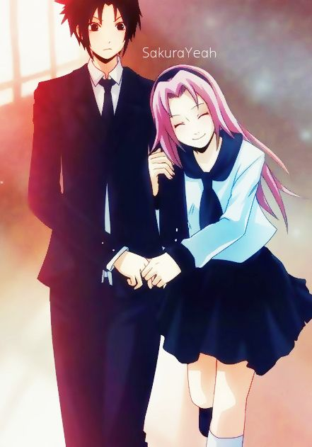 Sasuke and Sakura Family | Sasuke and Sakura Fanfiction http://www.flickr.com/photos/79925192@N08 ...