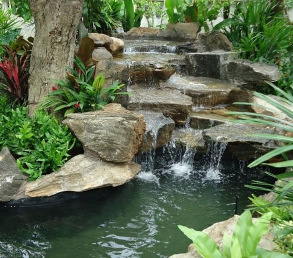 10 best Bassins du0027eau images on Pinterest Garden fountains, Garden