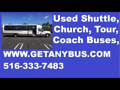 Used Bus For Sale | 2003 Ford Krystal F550 KK33 Luxury Shuttle Used Bus ...