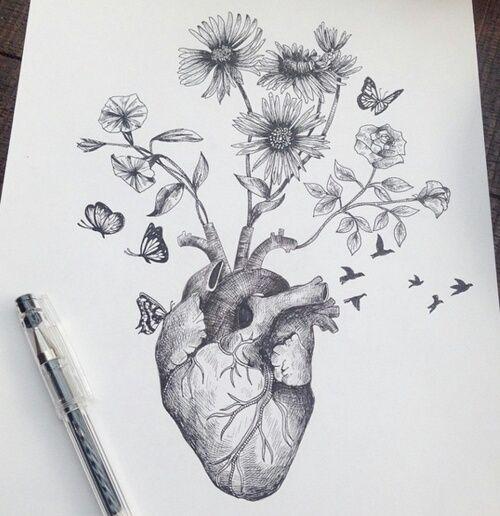 Image de art, birds, and black and white