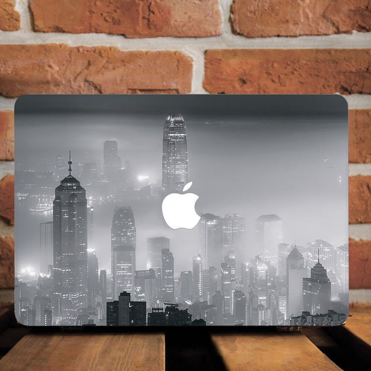 Fog Pittsburgh City Landscape Hard Plastic Case For Macbook Pro Retina 13 15 Air…