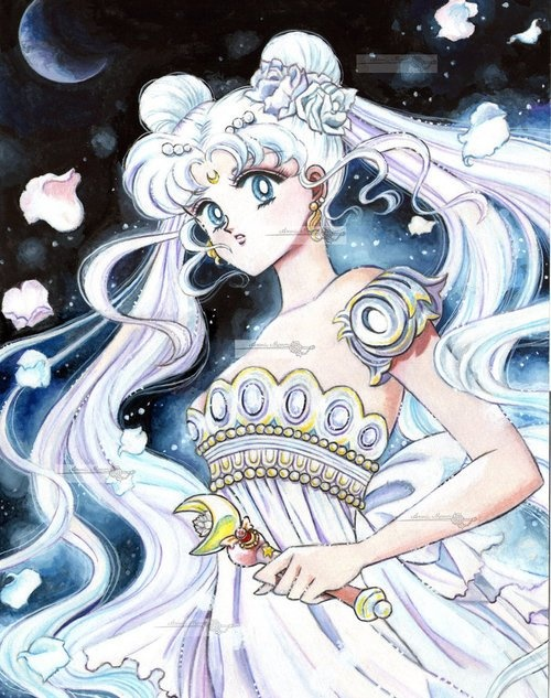 "Princess Serenity from the ""Sailor Moon"" manga."