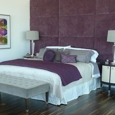 contemporary bedroom by Beth Wooke, SDSA