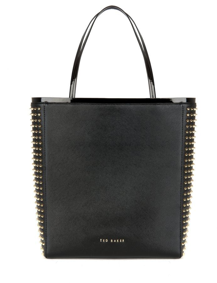 Sammara studded crosshatch shopper,ted baker