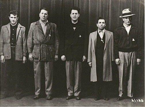 Chicago Outfit members- Ed Panczko, Paul Panczko, Steve Tomaras, Lawrence Sylvester and Edmund Gruszykowski.