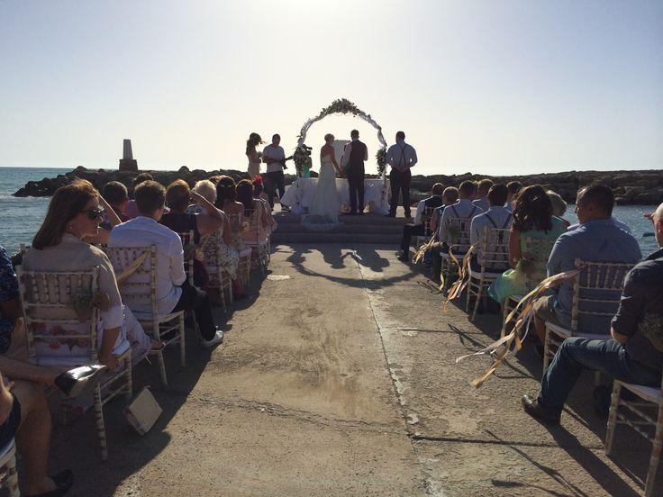 The Pier our exclusive wedding venue by www.cyprusdreamweddings.com