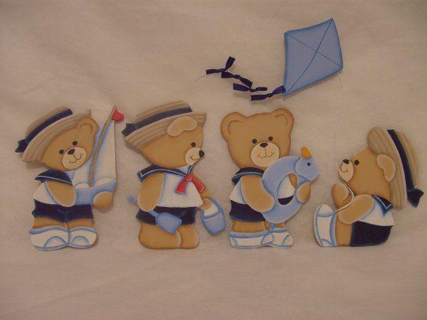 Artes da Val - Ursinhos marinheiros