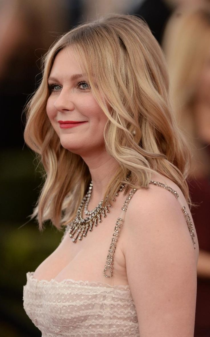 Kirsten Dunst at the SAG Awards 2017 | SAG Awards 2017: best hair ...