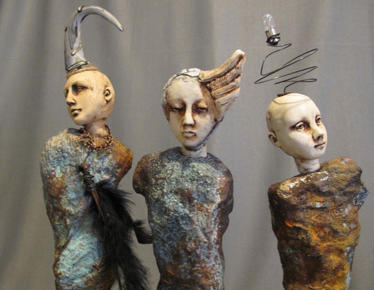 Lisa Renner, sculpture Art dolls |Blog Graphiste / Sculptures ...