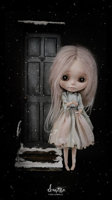 OOAK Custom Blythe #4 The Match Girl by dollmofee by dollmofee, via Flickr