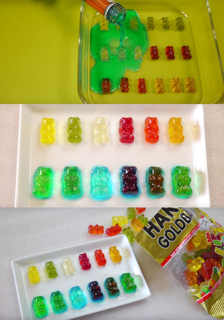Forget jello shots, drunken gummy bears are the best alcoholic gummy