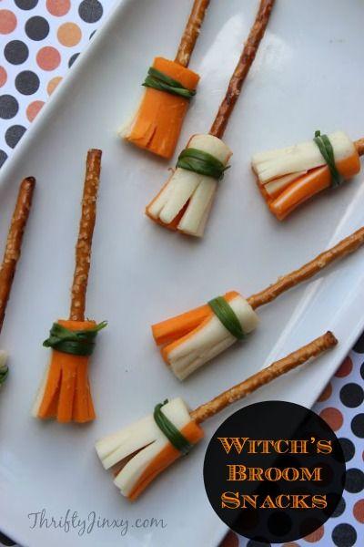 Witch's Broom Snacks