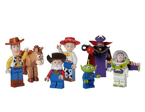 Back in February LEGO and Disney announced a strategic partnership that will see LEGO producing sets based on Disney's vast portfolio. Starting in 2010, LEGO will put out kits based upon the Toy Story, Cars, and upcoming Prince of Persia movie. First up is Toy Story LEGOs that's set to launch in January 2010. Recently, LEGO provided a set of their production photos of the LEGO Toy Story minifigs.