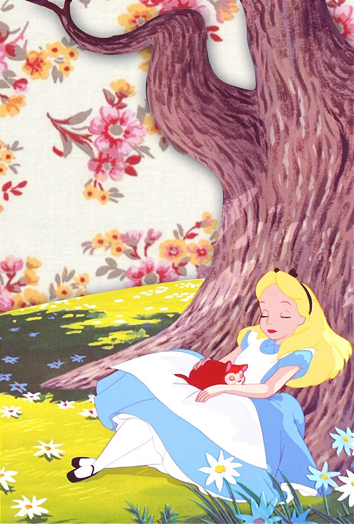 """"""" iPhone Backgrounds → Alice in Wonderland by request """""""