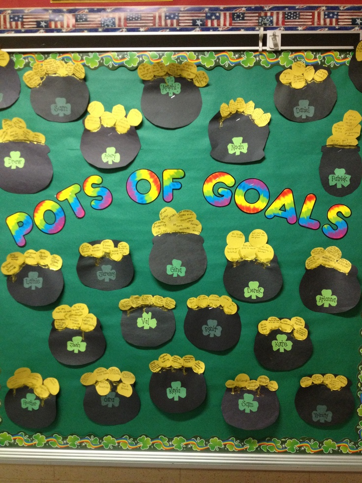 Best 25 Goal bulletin boards ideas