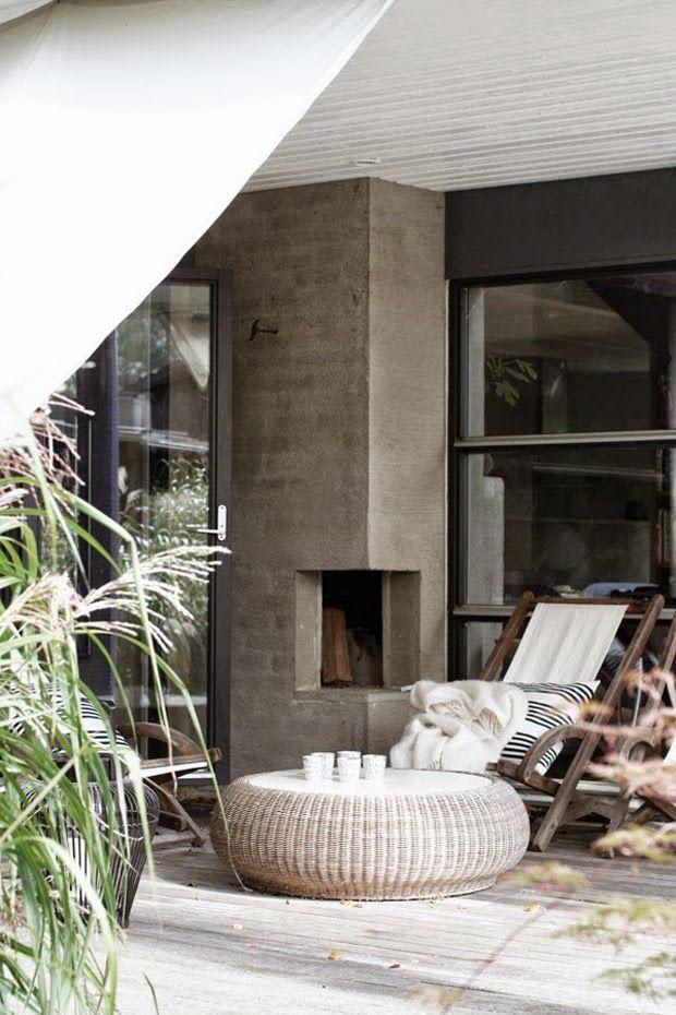 Die 25+ Besten Ideen Zu Feuerstellen Bereich Auf Pinterest ... Sitzbereiche Kaminofen Im Garten