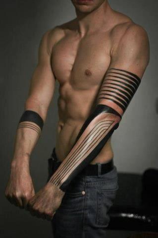 Geometrical #tattoos