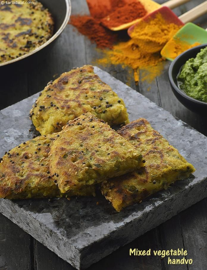 131 best indian snacks images on pinterest indian snacks chutney mixed vegetable handvo non fried snacks recipe indian non fried recipes forumfinder Gallery