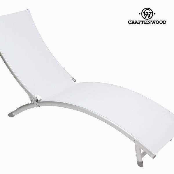 Deze Witte Aluminium Ligstoel van Craftenwood is prachtig om in de tuin heerlijk te zonnen! Gemaakt van hoogwaardig materiaal. Prijs €165,00.