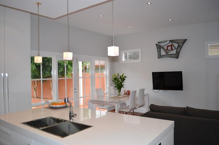 Clean and Open Living Space, Neutral Colour. cnpaintersmelbourne.com.au