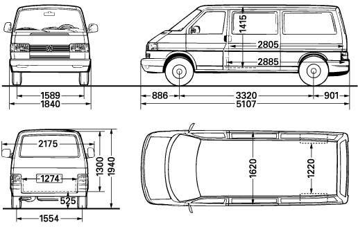 """Hallo,  brauche für Fahrzeugfolie eine Maßzeichnung von einem T4 Kasten langer Radstand. Bei VW heißt es nur """"Betriebsgeheimnis"""" und man wird verwiesen auf vwn-aufbaurichtlinien, wo aber sehr ungenaue Maße zu finden sind.  Kann man denn…"""