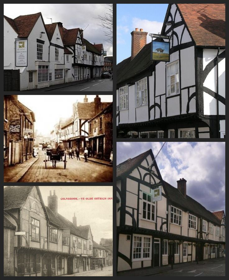 Ye Olde Ostrich Inn, Colnbrook Buckinghamshire England. Reportedly one of the most haunted pubs in England.