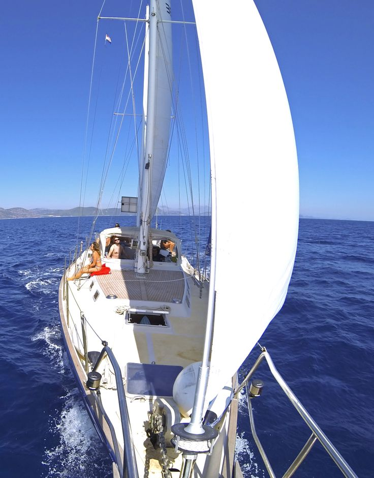 5 years sailing throughout the Mediterranean Sea, The Black Sea and the Northern Red Sea