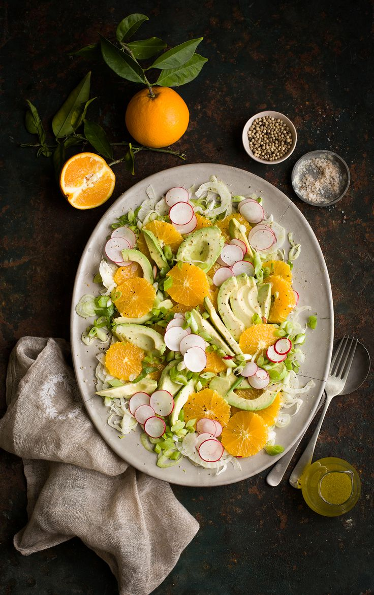 919 best food photography images on pinterest drink drinks and a delicious avocado orange salad recipe with fennel forumfinder Gallery