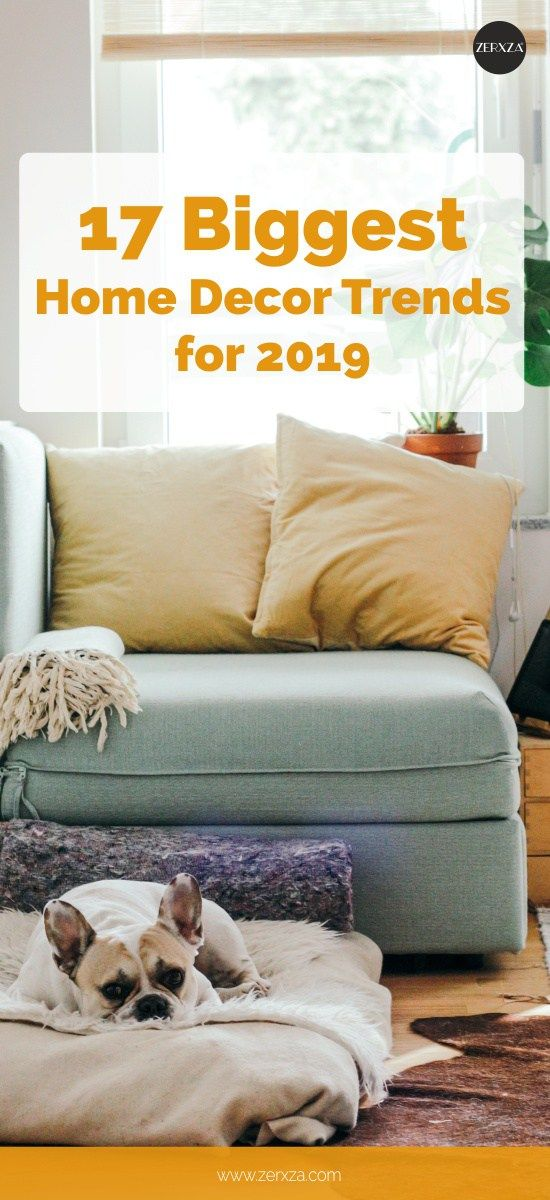 TREND ALERT 17 Biggest Home Decor Trends For 2019 Sage, Red, Matte Black, Curved, Plants