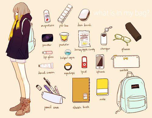 Inside of my bag