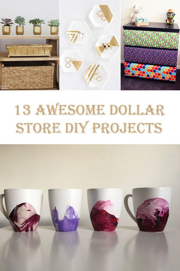 13 Awesome Dollar Store DIY Projects