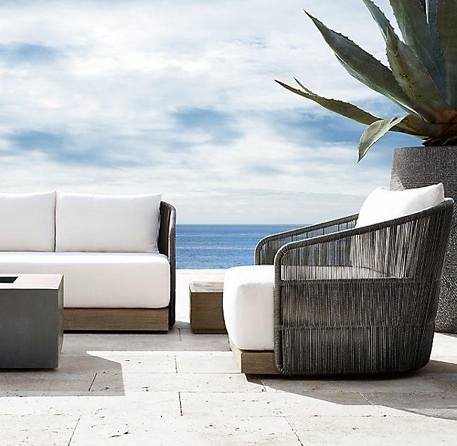 84 Havana Classic Sofa Outdoor Decor Outdoor Lounge Outdoor