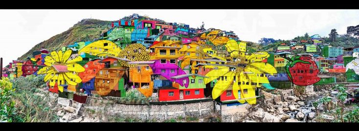This Gigantic Community-wide Artwork In La Trinidad Is Stunning