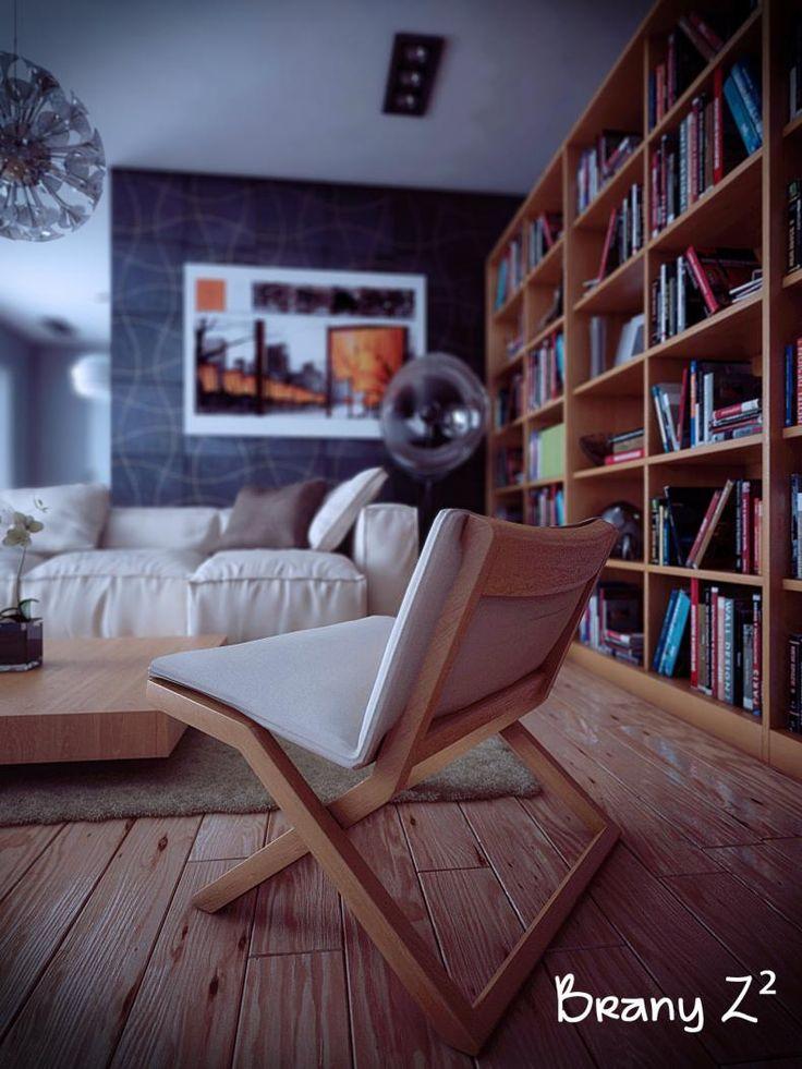 Graphite Ondulated Wood Interior