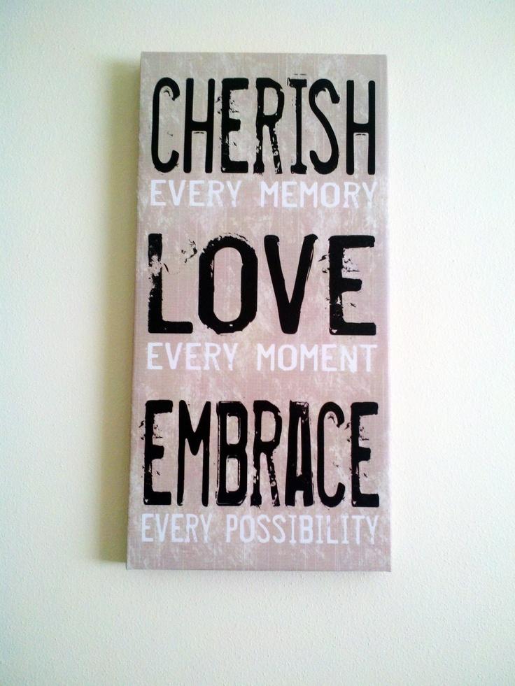 Un lienzo que todos deberíamos ver alguna vez al día ;): Inspirational Quote, Words Of Wisdom, Quotes Sayings Inspiration, Colleges Life, Wall Canvas, Inspiration Quotes, Cards Quotes, Wall Ideas, Crafts