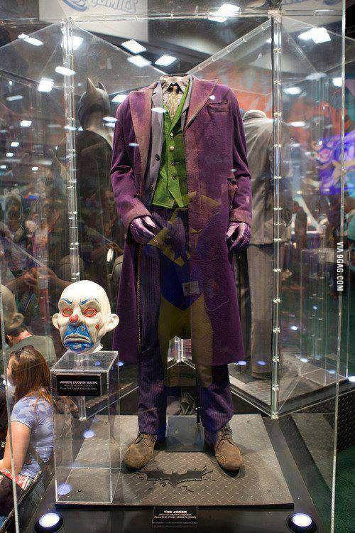 The Original Costume Worn By Heath Ledger