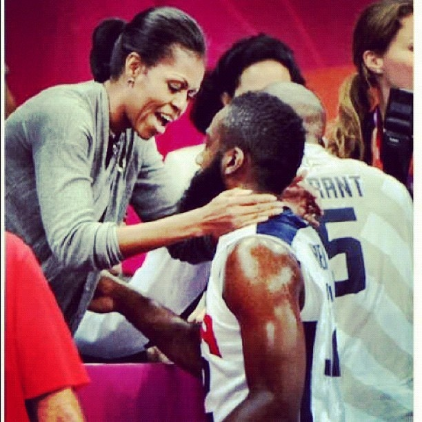 The U.S.A. Basketball Team's Olympic Journey: might ask well as Michelle her opinion, also...
