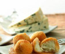 Croquetas de queso cabrales con salsa de membrillo - Thermomix