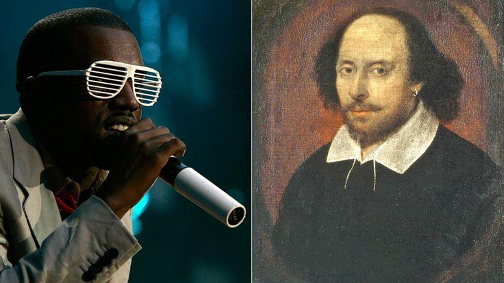 Le célèbre dramaturge britannique William Shakespeare  «Je suis Shakespeare en chair et en os», a-t-il affirmé en entrevue sur la chaîne radio satellite Shade 45 du rappeur Eminem.