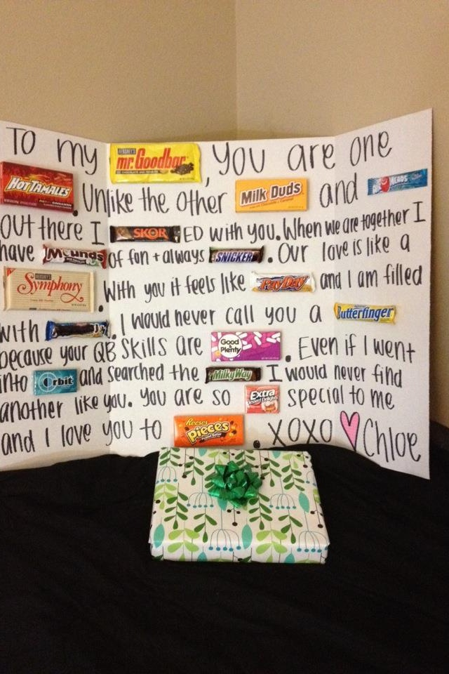 Making this for my man (: Happy birthday (: -I Plan On Doing Something Similar For My Boyfriend.. Something SUPER Special