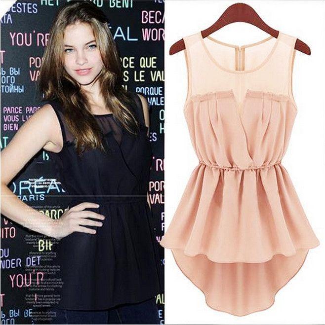 Fashion sleeveless Lace Dress AA827DJ
