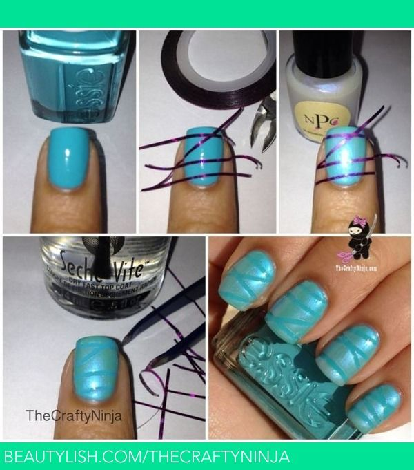 The 25 best nail striping tape ideas on pinterest diy nails how to use nail striping tape thecraftyninja hs thecraftyninja photo beautylish prinsesfo Choice Image