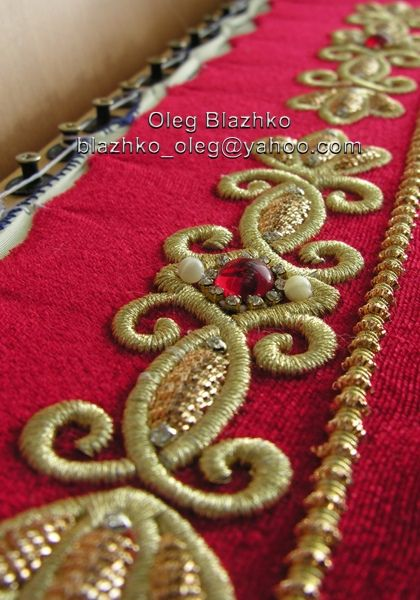 Gold work embroidery   goldwork embroidery   Flickr - Photo Sharing!