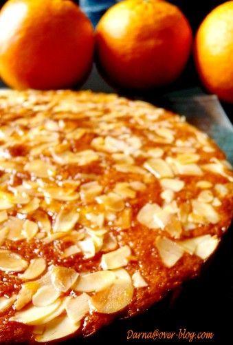 gateau aux oranges et amandes