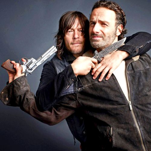 """Norman and Andy """" """" 