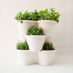 jardn vertical corsica blanco bandeja